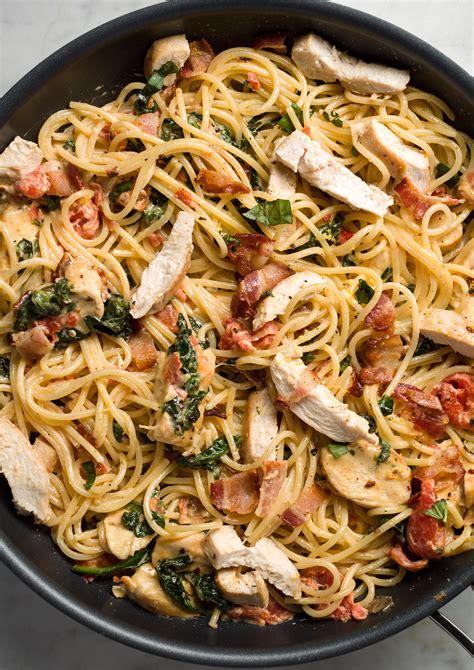 Easy lemon pasta with chicken recipe the neelys food jpg 3827x5414
